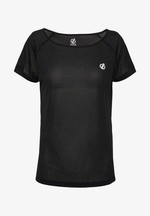 DEFY TEE - T-shirts med print - black