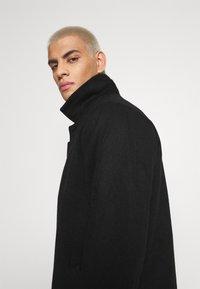 Denim Project - COAT - Klasický kabát - black - 3