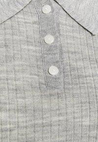 Selected Femme - SLFCOSTA - Strickpullover - light grey melange - 2