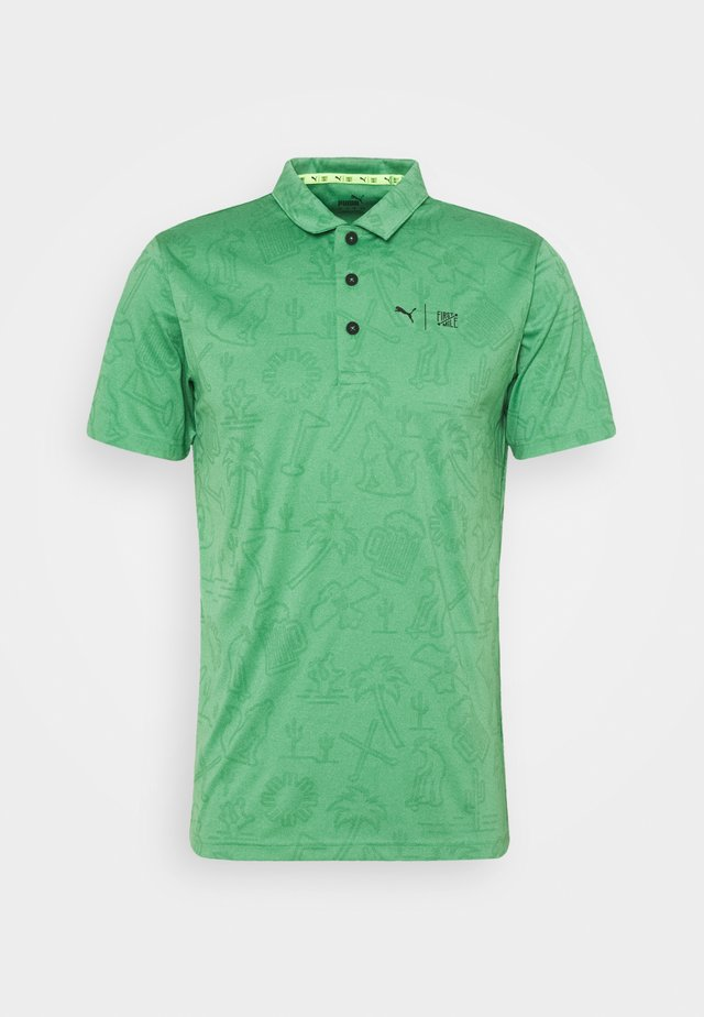 FIRST MILE FLASH - Polo - amazon green heather