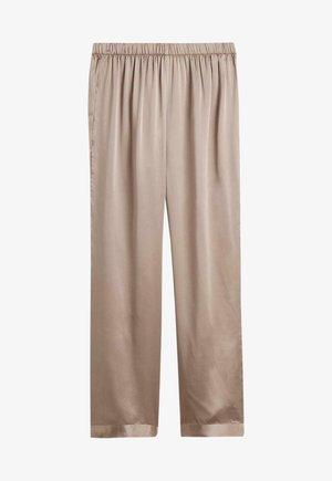 Pyjama bottoms - cappuccino
