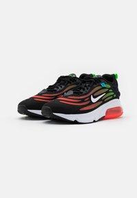 Nike Sportswear - AIR MAX EXOSENSE SE UNISEX - Sneakers basse - black/white/flash crimson/green strike/blue fury - 1