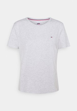 SOFT TEE - T-shirts - silver grey heather