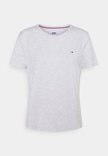 SOFT TEE - Basic T-shirt - silver grey heather