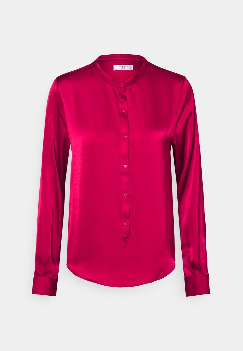 Moss Copenhagen - LUELLA SEASONAL - Button-down blouse - vivacious