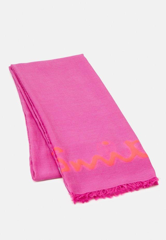 WOMEN SCARF LOGO - Foulard - pink