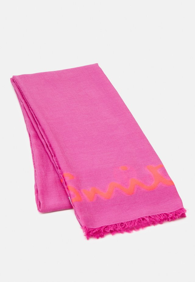 WOMEN SCARF LOGO - Tuch - pink