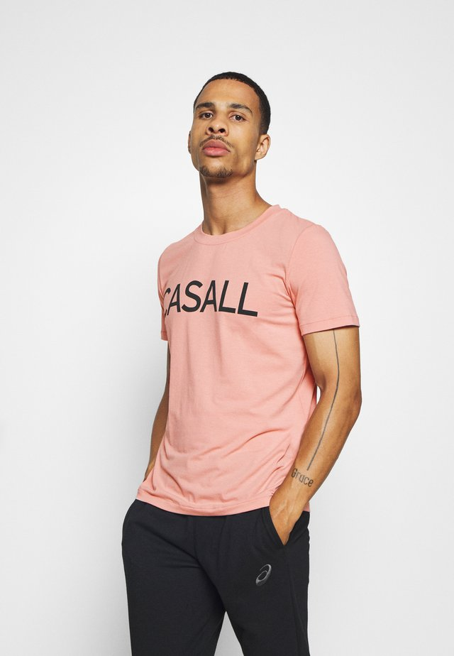 LOGO TEE - T-shirt con stampa - trust pink