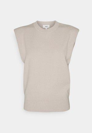 OBJDEVOE - Stickad tröja - silver gray