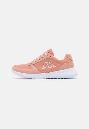 SAMURA - Sports shoes - dark rosé/white