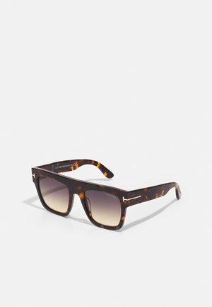 UNISEX - Sunglasses - dark havana/gradient smoke