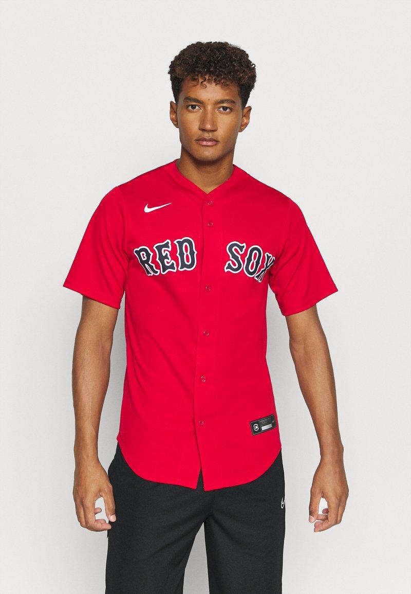 Nike Performance - MLB BOSTON RED SOX OFFICIAL REPLICA ALTERNATE - Klubové oblečení - scarlet
