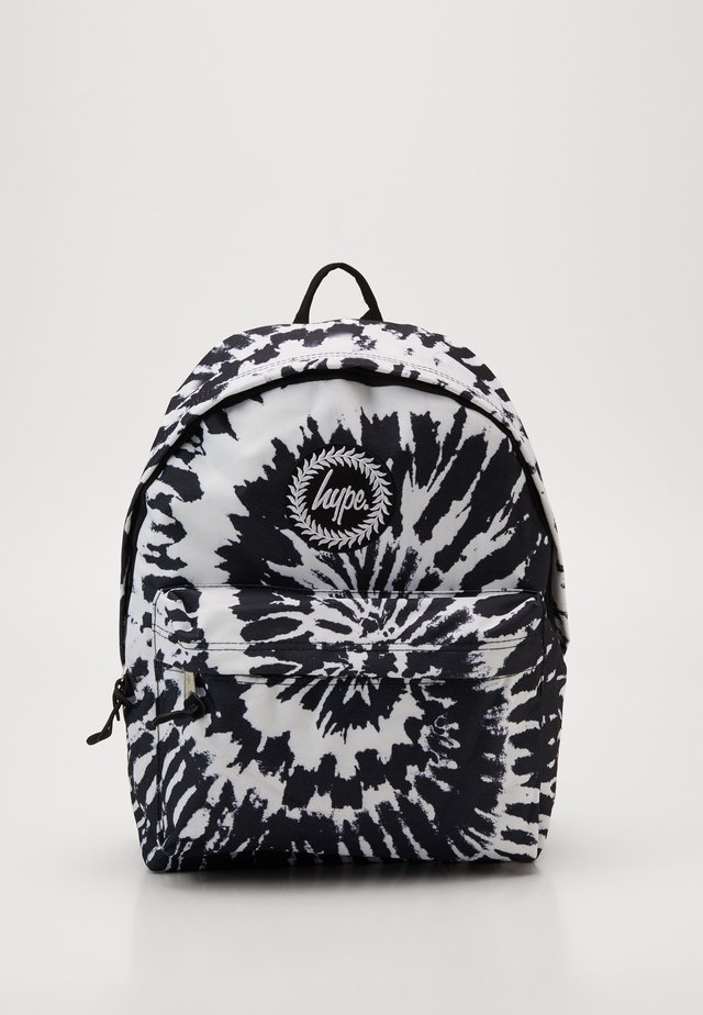 BACKPACK MONO TIE DYE - Ryggsekk - black/white