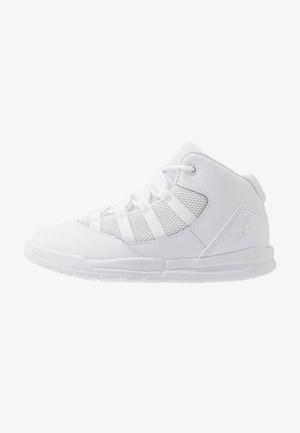 MAX AURA BT - Basketbalové boty - white/black