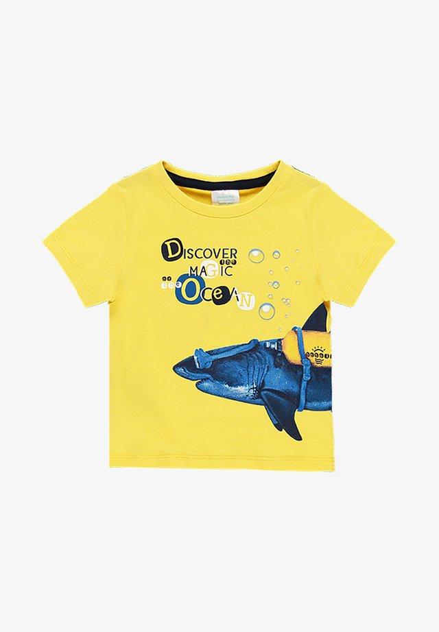 T-shirt med print - sun