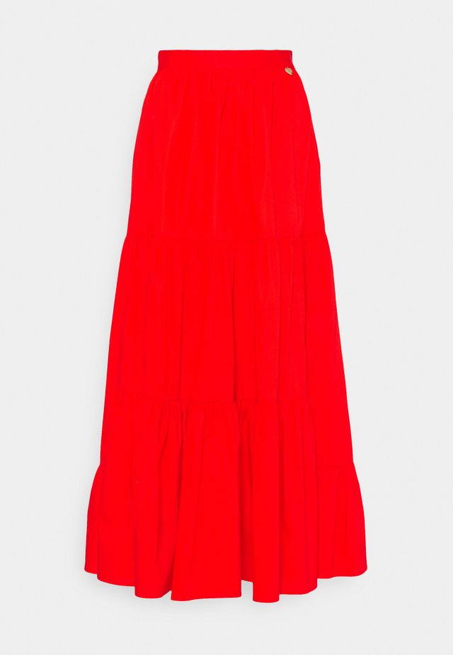 Maxi skirt - corallo