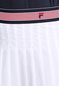 Fila - SKORT  SAFFIRA  - Sports skirt - white - 3