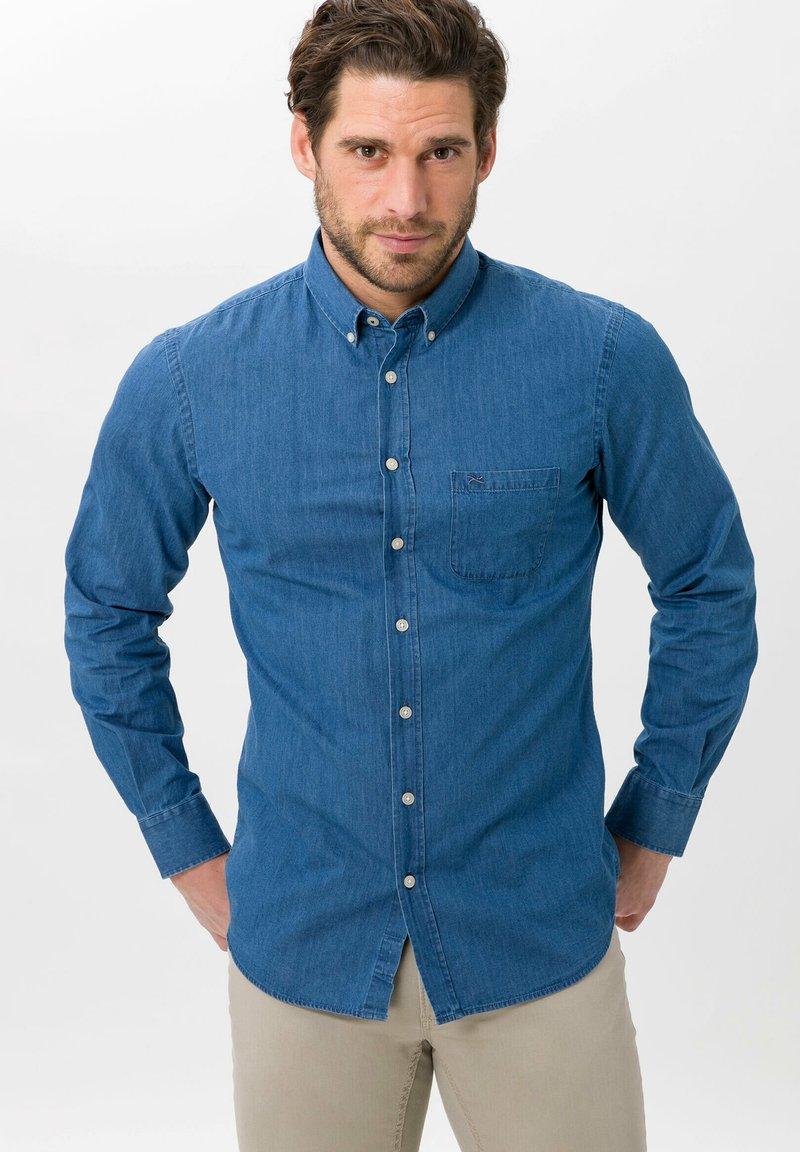 BRAX - STYLE DANIEL - Shirt - blue