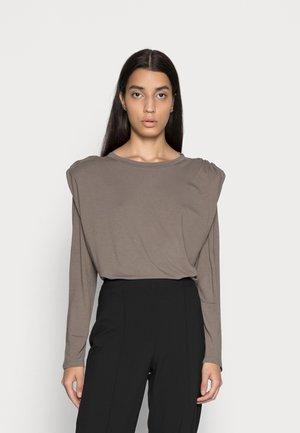 SMILLA BLOUSE - Långärmad tröja - khaki