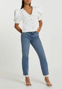 River Island - Button-down blouse - white - 1