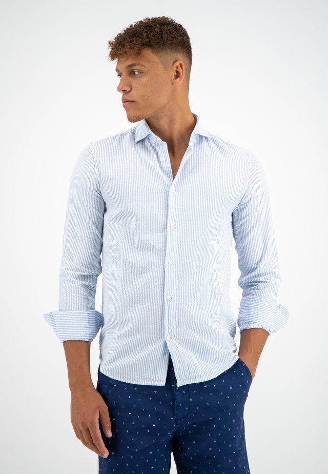 JEPP SEERSUCKER - Shirt - light blue