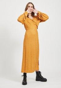 Object - Maxi dress - brown - 1