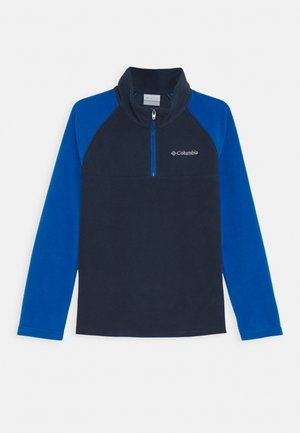 GLACIAL HALF ZIP - Fleece jumper - collegiate navy/bright indigo