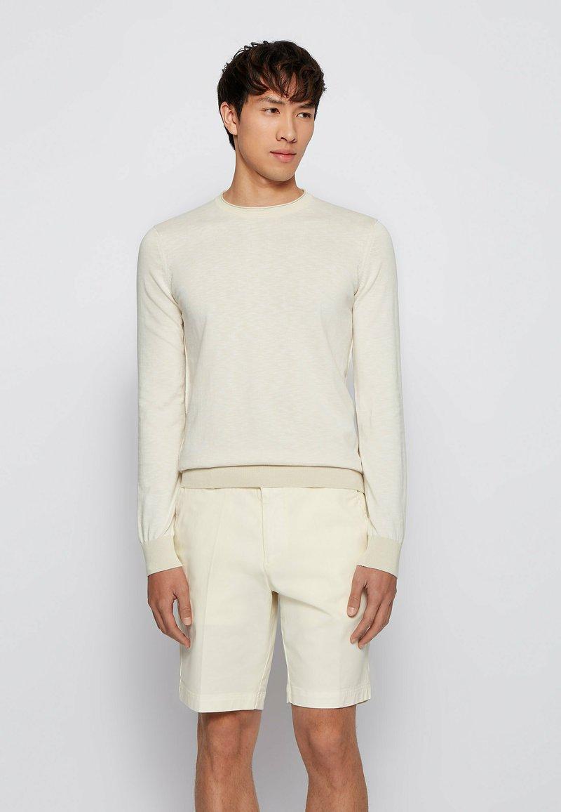 BOSS - KOMIBO - Jumper - light beige