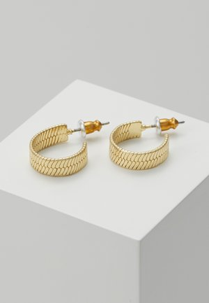 EARRINGS - Kolczyki - gold-coloured