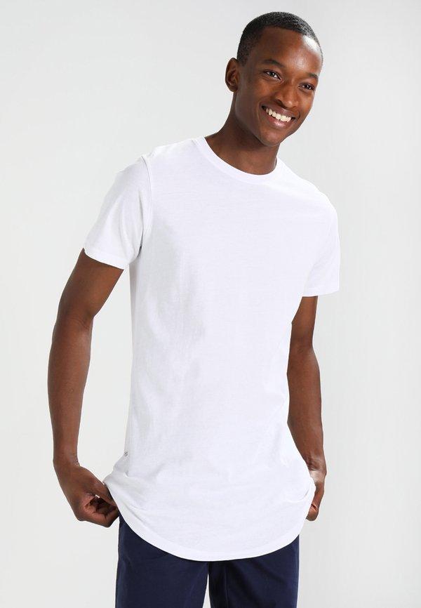 Redefined Rebel JAX - T-shirt basic - white/biały Odzież Męska QXHL