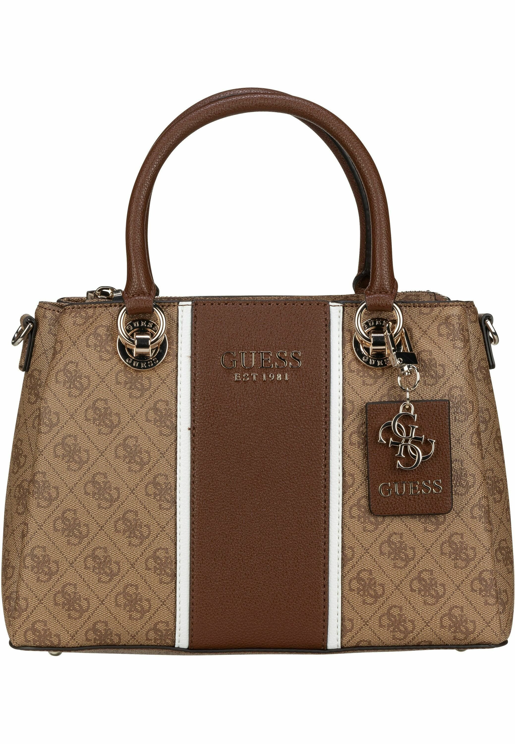 Guess Cathleen Compartment - Handtasche Brown/braun