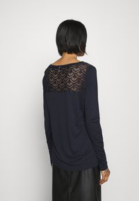 ONLY - ONLNICOLE LIFE NEW MIX  - Long sleeved top - night sky - 2
