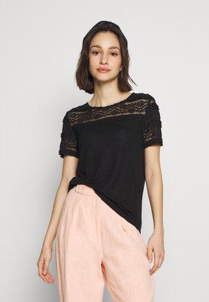 ONLMARJORIE MIX - T-shirt imprimé - black