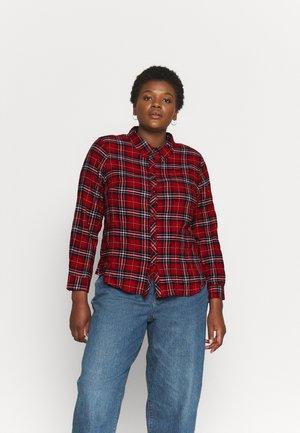 CARPINILIFE SHIRT - Button-down blouse - red ochre