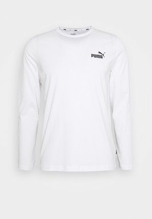 SMALL LOGO LONGSLEEVE TEE - T-shirt à manches longues - white