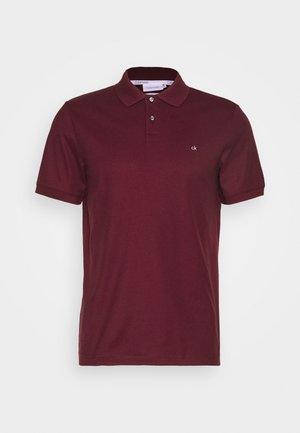 REFINED LOGO SLIM FIT - Polo shirt - bordeaux