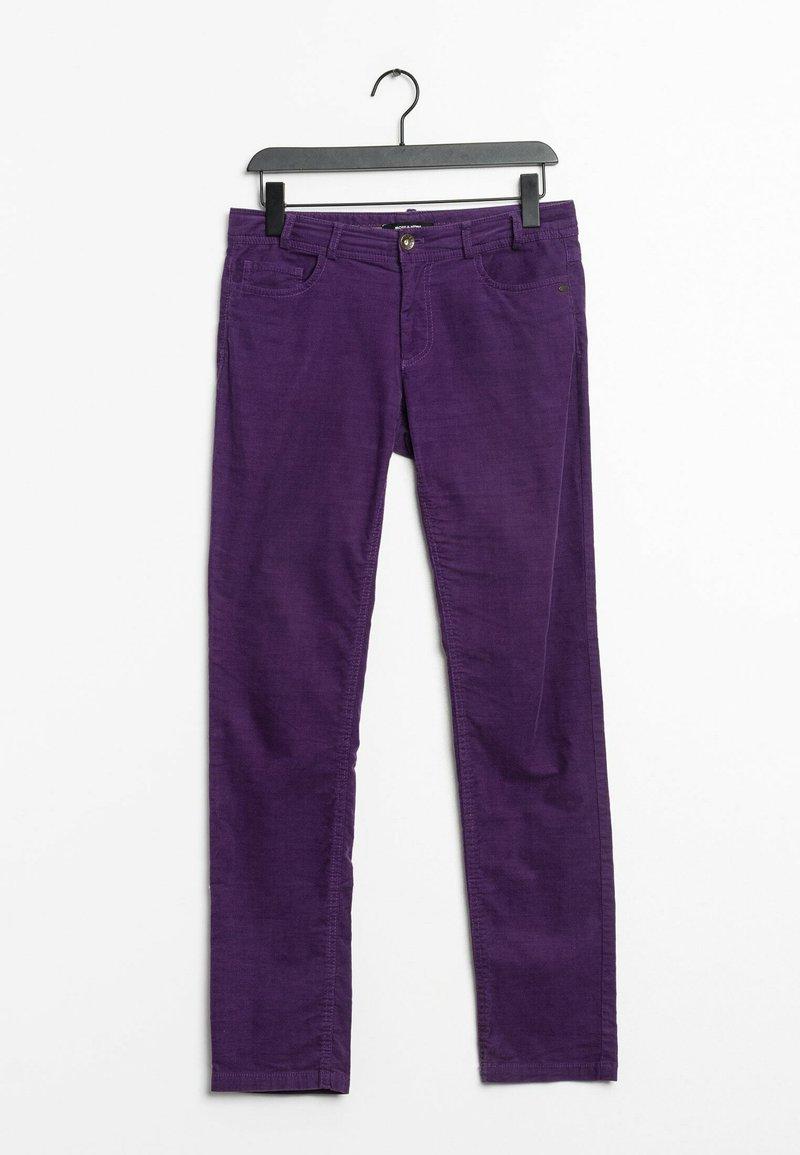 More & More - Straight leg jeans - purple