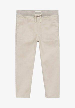 LEO - Trousers - gris glacé