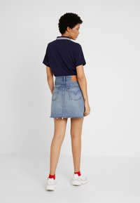 Levi's® - DECON ICONIC SKIRT - Áčková sukně - high plains - 2