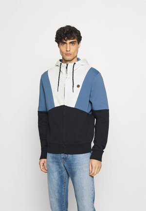 CAPUCHA ABIERTA SILUETA - Zip-up hoodie - medium blue