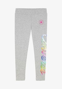 Converse - SCRIPT - Leggings - Trousers - dark grey heather - 2