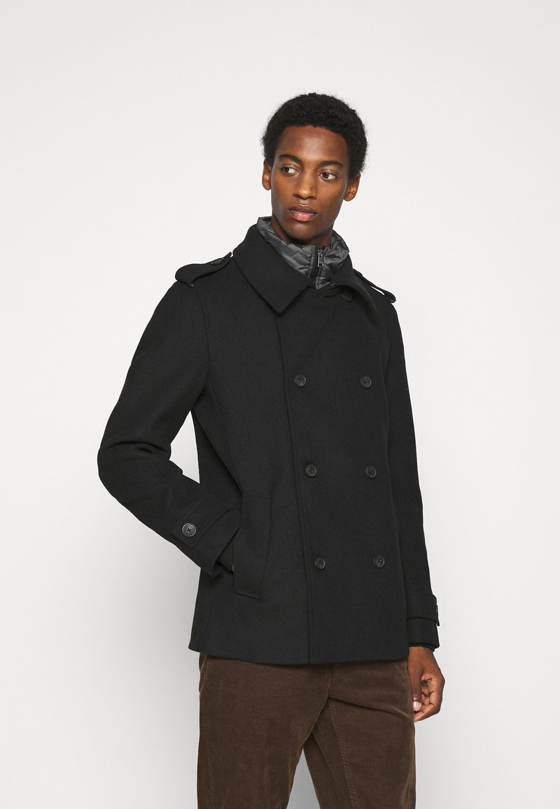 TOM TAILOR DENIM - CABAN - Short coat - black