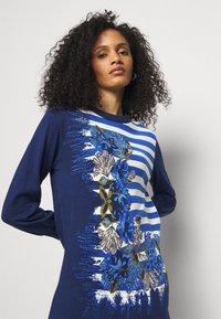 Alberta Ferretti - DRESS - Pletené šaty - blue - 3