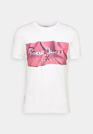 RAURY - Print T-shirt - dark chicle