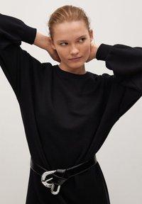 Mango - SILVA - Day dress - noir - 4