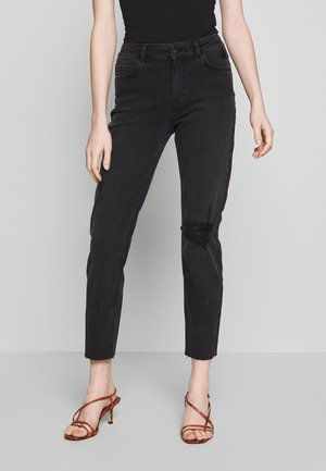 NMJENNA - Relaxed fit jeans - black denim