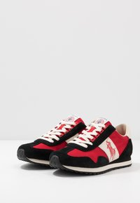 Polo Ralph Lauren - TRAIN 90 - Sneakers - black/red - 2