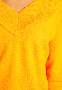 Vila - VIRIL V NECK  - Sweter - orange - 5