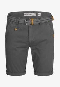 INDICODE JEANS - CASUAL FIT - Shorts - raven - 5