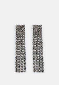 STAMPA - Earrings - grigio chiaro